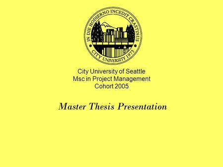 msc projects and thesis