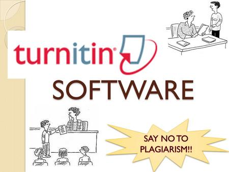 SOFTWARE. INTRODUCTION Internet- based plagiarism - detection service used to checks the documents for originality. To checks the students work – assignments,