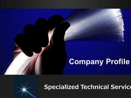 Company Profile Specialized Technical Services. Introduction Power Distribution Systems play a significant role in energy sector around the globe. Professional.