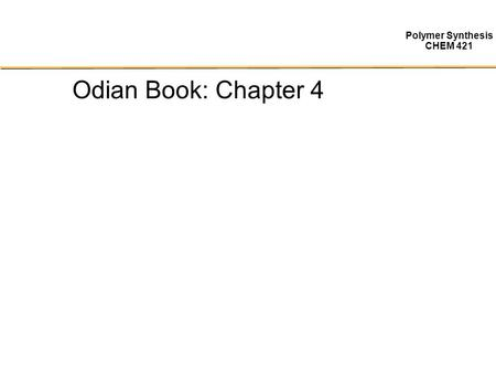 Odian Book: Chapter 4.