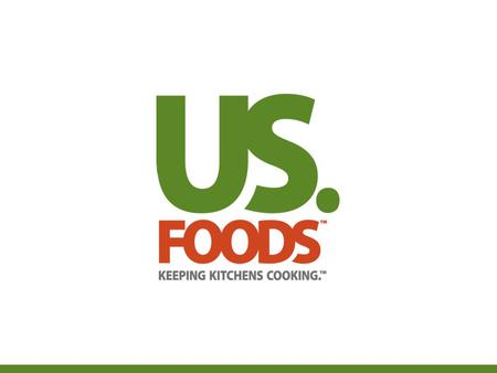 Improving Quality of Life through Food Executive Chef -Rob Johnson – US Foods Oklahoma March 12th 2013.