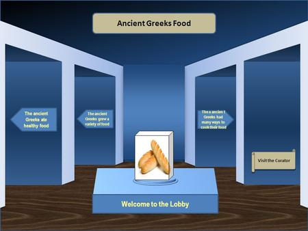 Ancient Greeks Food Welcome to the Lobby