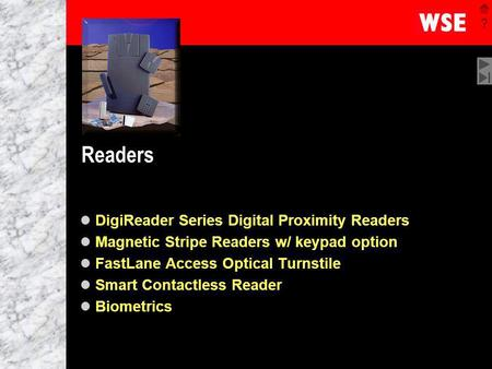 Readers DigiReader Series Digital Proximity Readers
