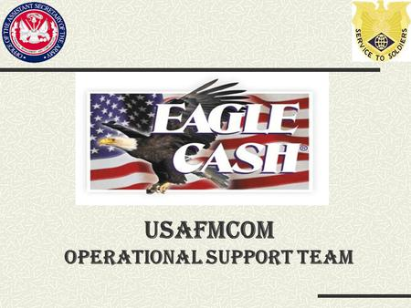 USAFMCOM Operational Support Team. Objectives Why ECC. Where is the ECC used. Need to Know. How to use ECC.