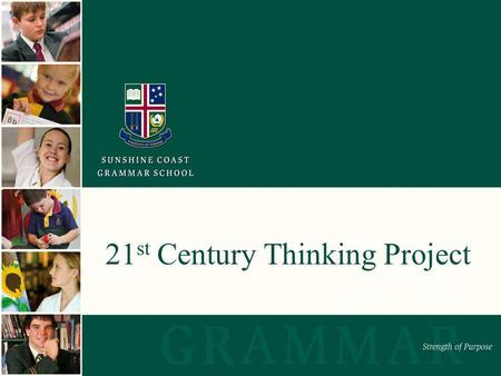 21 st Century Thinking Project. How would you rate your knowledge and use of active thinking routines in your teaching in February?