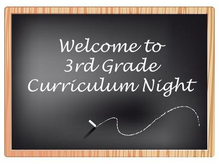 Welcome to 3rd Grade Curriculum Night. 3rd Grade Team: Mrs. Dameron Mrs. Giesler Mrs. Huling Mrs. May Ms. Miller Mrs. Smith.