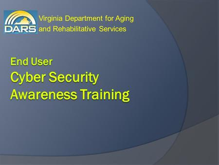 Virginia Department for Aging and Rehabilitative Services.