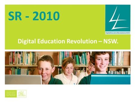 Digital Education Revolution – NSW. SR - 2010. Kogarah HS Students at Work.