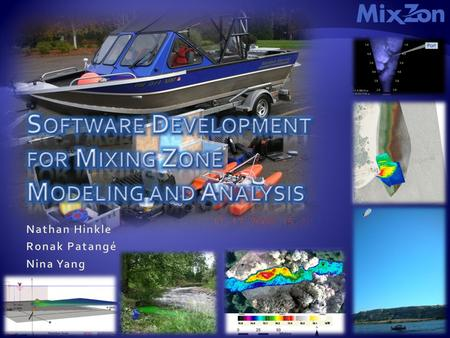 Mixing Zones (n): 1.Mixing zones are limited regions in rivers, lakes and coastal areas where the initial dilution (dispersion) of point-source wastewater.
