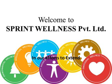 Welcome to SPRINT WELLNESS Pvt. Ltd. In our efforts to Extend.