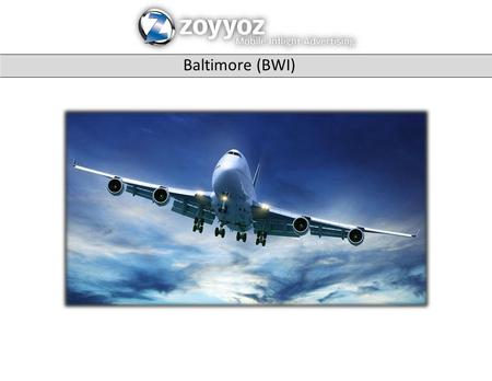 Baltimore (BWI). Banner Ads - Smartphones Banner Ads - Laptop / iPad / Tablet.