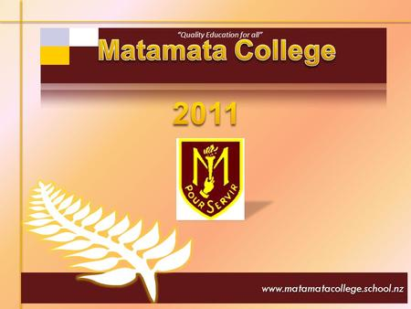 Www.matamatacollege.school.nz. Principal: G Rowsell BA; Dip Ed; Dip Drama; Dip School Leadership I am very proud to be principal of Matamata College-