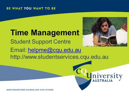Time Management Student Support Centre
