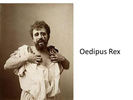 Oedipus Rex. Time is not represented linearly Oedipus Journey.