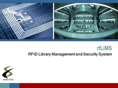RfLiMS RFID Library Management and Security System.