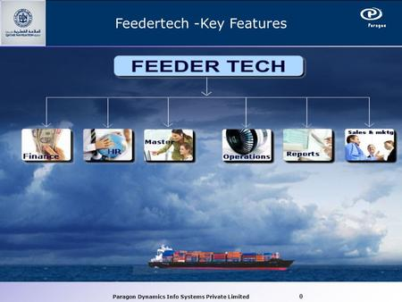 Paragon Dynamics Info Systems Private Limited 0 Feedertech -Key Features.