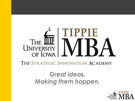 Strategic Innovation Academy Directors Faculty Director: Barry Thomas – Academic History PhD in Industrial and Operations Engineering, University of Michigan,