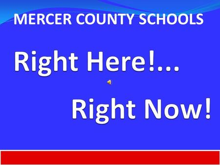 MERCER COUNTY SCHOOLS. SCHOOLCOMPOSITE SCORERANK Anderson County Middle15.3 8 Boyle County Middle16.7 1 Burgin Independent 15.0 12.