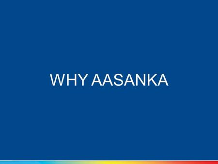WHY AASANKA. Should you study at home or coaching class? Go to private coaching or organised coaching Go to kota or study in your city Should I aim for.