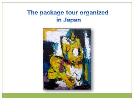 1. The package tour organized in Japan 2. The responsibility of the travel agency 3. The extent of compensation 4. The leading cases 5. In comparison.