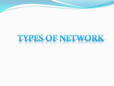 A computer network, often simply referred to as a network, is a collection of computers and devices interconnected by communications channels that facilitate.