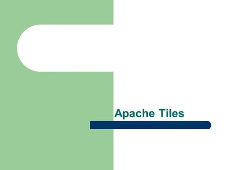 Apache Tiles. Tiles Introduction Tiles is a framework for the development user interface Tiles is enables the developers to develop the web applications.