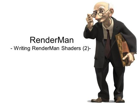 RenderMan - Writing RenderMan Shaders (2)-. Transforming Tiles Transforming texture coordinates has an inverse effect on the appearance of the pattern.