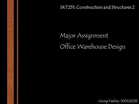 Office Warehouse Design