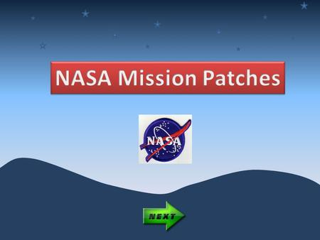 In the military, it is tradition to design a patch to symbolize a mission. Since many of the first astronauts came from the military, this tradition came.