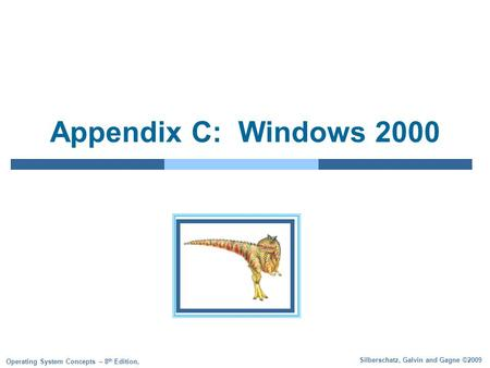Appendix C: Windows 2000.