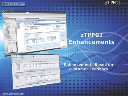Suite www.tpfsoftware.com. Suite 2 TPF Software – Overview Binary Editor Remote Scripts zTREX Add-Ins & Project Integration with Source Control Manager.