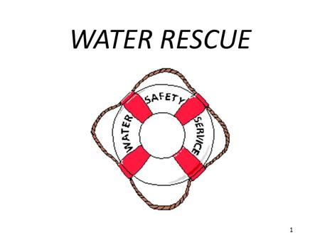 WATER RESCUE 1.