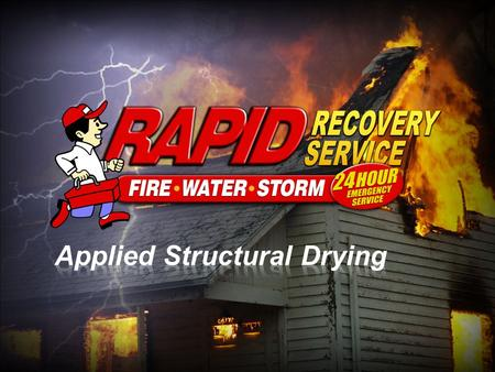 Applied Structural Drying (ASD) & Agent Loss Ratio Sheet WATER WIND.