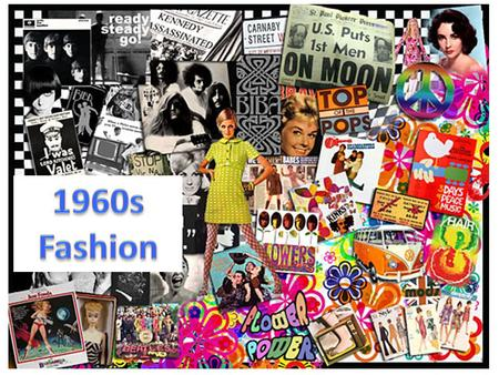 Prior to the British invasion on fashion in 1964, sixties fashion was a continuation of the late 1950s. Women usually wore very smart, feminine designs.