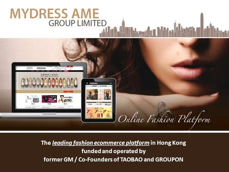 The leading fashion ecommerce platform in Hong Kong