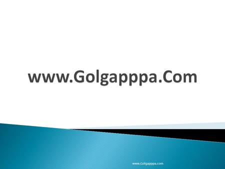 Www.Golgapppa.com. It is basically No Frill, Low cost, Recession Proof and Win Win Business Concept. www.Golgapppa.com.