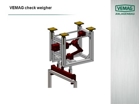 VEMAG check weigher.