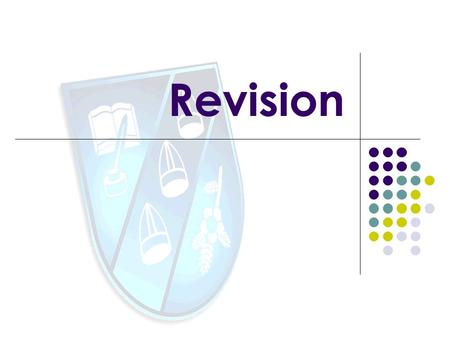 Revision. Revising isnt something that should be challenging or difficult at all. What revising is, unfortunately, is time consuming. It takes a while.