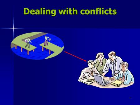 1 Dealing with conflicts. 2 3 LESSON 1 (week-1) Introduction Introduction What is conflict What is conflict What causes conflict What causes conflict.