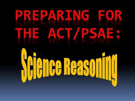 The ACT Science Reasoning Test is 35 minutes long. includes 7 reading passages. has 40 questions divided among seven passages. The 7 passages include: