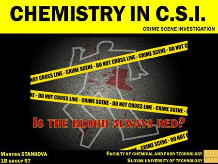 CRIME SCENE INVESTIGATION. SUMMARY 1.Haemoglobin - the unique compound of blood 2.Techniques of bloods detection Luminescene Crystal reaction Catalytic.