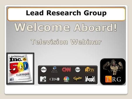 Lead Research Group. Referred to as The Hallway Lead Research Group Webinar Tutorial.
