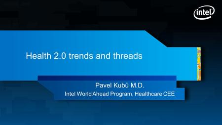Health 2.0 trends and threads