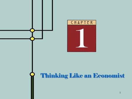 1 Thinking Like an Economist. 2 Philosophy of This Course Focus on covering the core ideas of economics rather than covering many topics superficially.