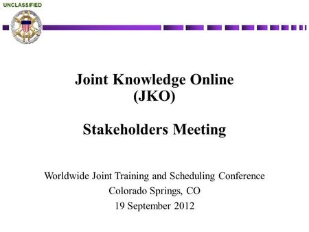 Joint Knowledge <strong>Online</strong>