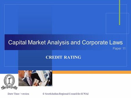 Capital Market Analysis and Corporate Laws
