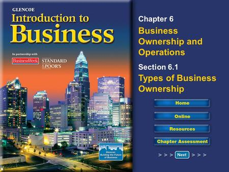 Read to Learn Describe the advantages and disadvantages of the three major forms of business organizations. Describe how cooperatives and nonprofits are.