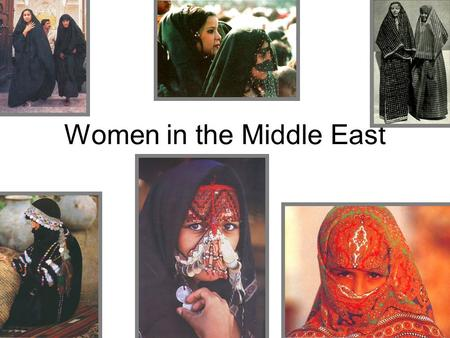 Women in the Middle East Sharia Law Body of Islamic religious law Legal framework within which the public and some private aspects of life are regulated.