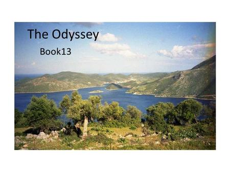 The Odyssey Book13. Preparing for Departure Alkinoos calls the men together to gather gifts for Odysseus, filling the ship with treasures, food and drink.