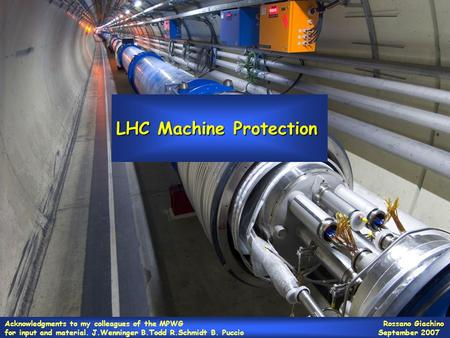 LHC Machine Protection
